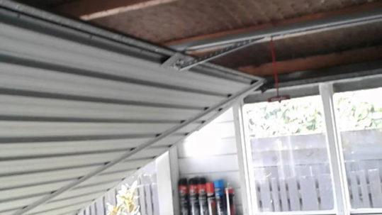 Tilt Door & Counterweight Installation