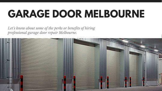 Garage door Melbourne