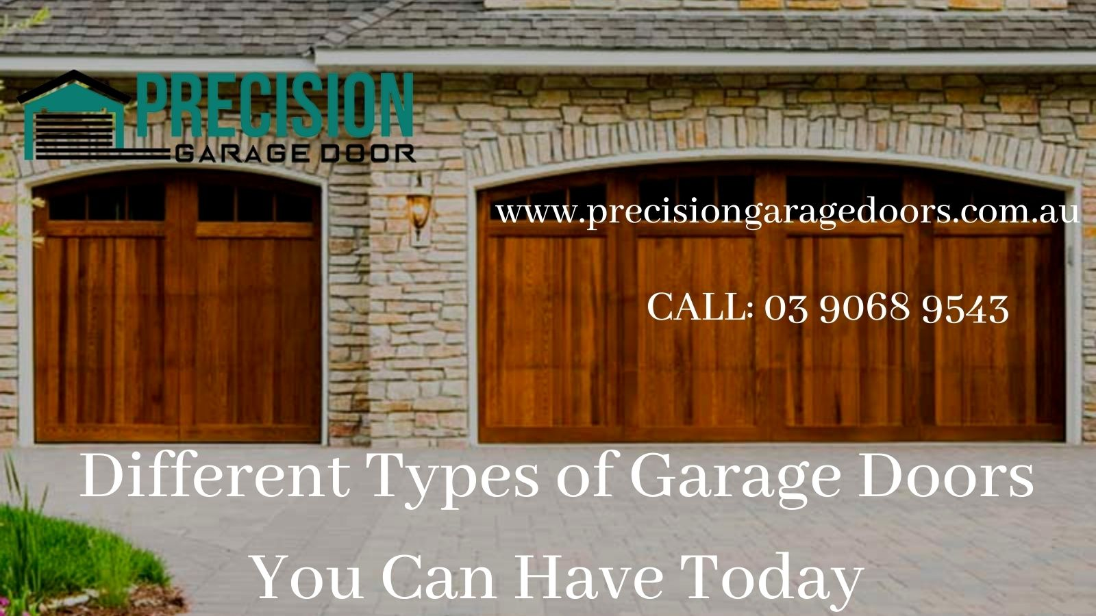 Different Types of Garage Doors You Can Have Today