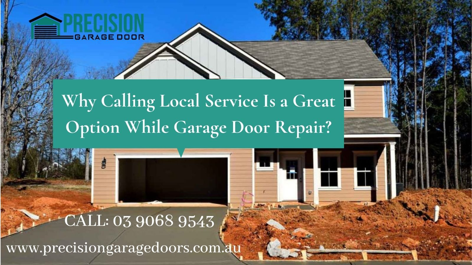 Why Calling Local Service Is a Great Option While Garage Door Repair